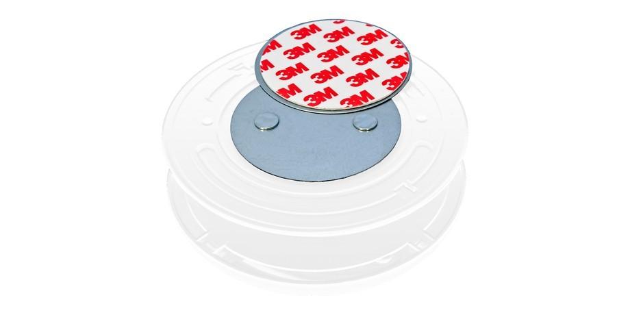 10x magnethalterung magnetbefestigung magnet halterung befestigung rauchmelder ebay. Black Bedroom Furniture Sets. Home Design Ideas