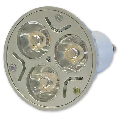 10x ledvero 3w high power gu10 led spot lampe strahler licht sparlampe kaltwei ebay. Black Bedroom Furniture Sets. Home Design Ideas