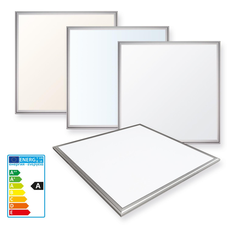 ledvero 62x62 ultraslim led panel 36w paneel deckenleuchte. Black Bedroom Furniture Sets. Home Design Ideas