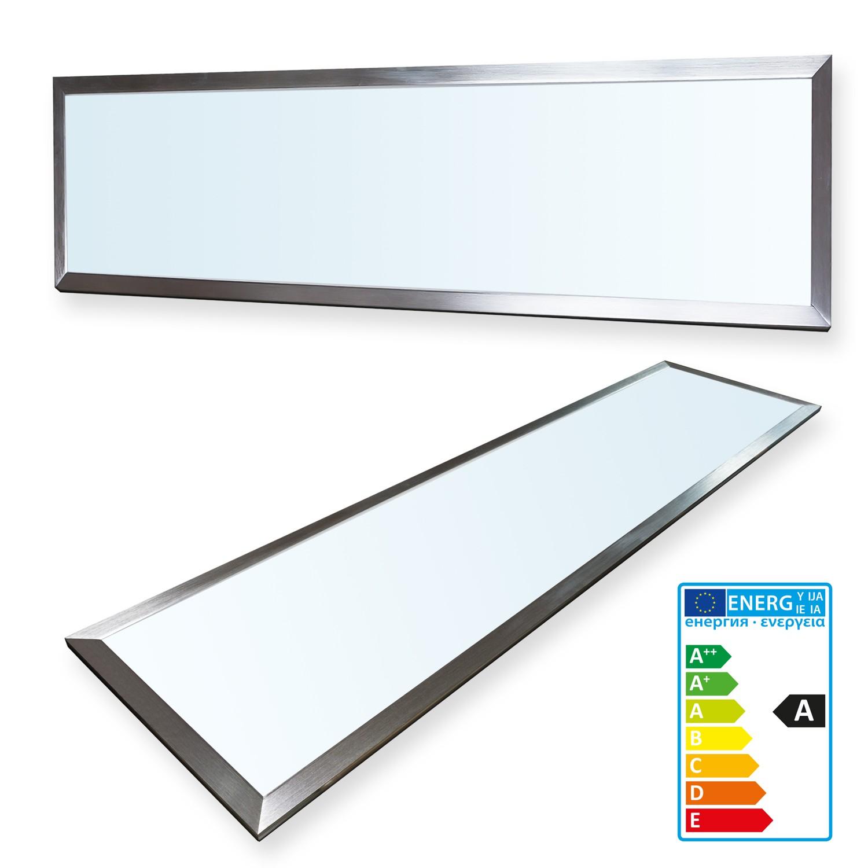 ledvero led panel 120x30cm fanale luci faretto da incasso plafoniera ultraslim ebay. Black Bedroom Furniture Sets. Home Design Ideas