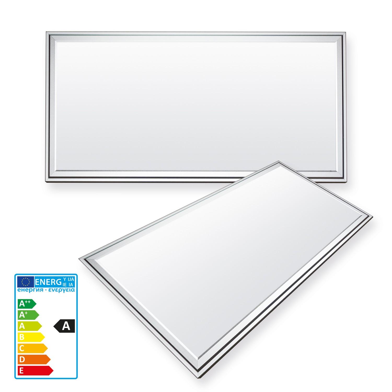 ledvero 30x60 pannello ultrasottili con trasformatore emv2016 20w 1600lm ebay. Black Bedroom Furniture Sets. Home Design Ideas