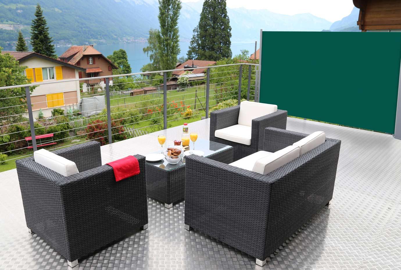 Nemaxx store lat ral abri soleil balcon terrasse - Protege soleil terrasse ...