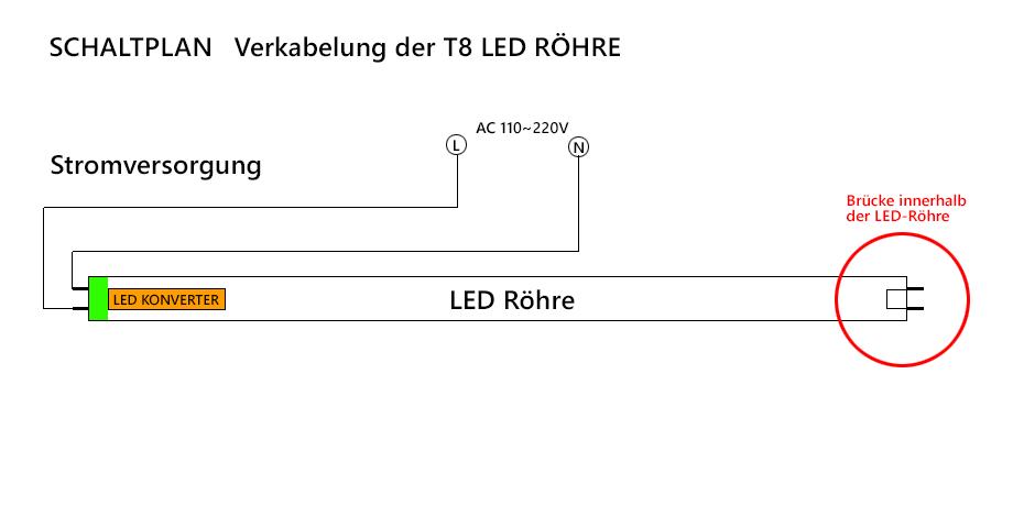 led röhre starter