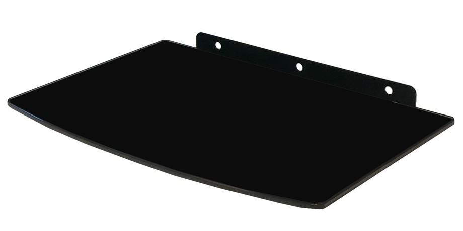 hifi glas regal wandhalterung glasregal wandregal rack f r dvd bluray player ps4 ebay. Black Bedroom Furniture Sets. Home Design Ideas