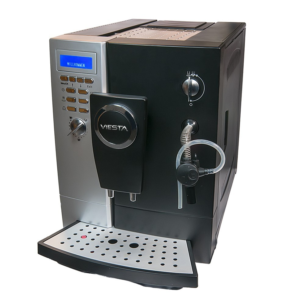 Coffee maker machine with grinder 19 bar brewer bean to for Kaffeevollautomat 200