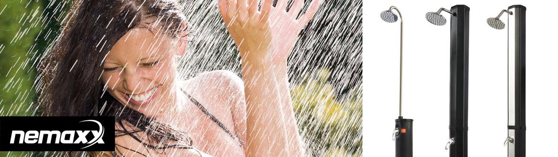 35 litres douche solaire de jardin camping piscine réglable et orientable 35L