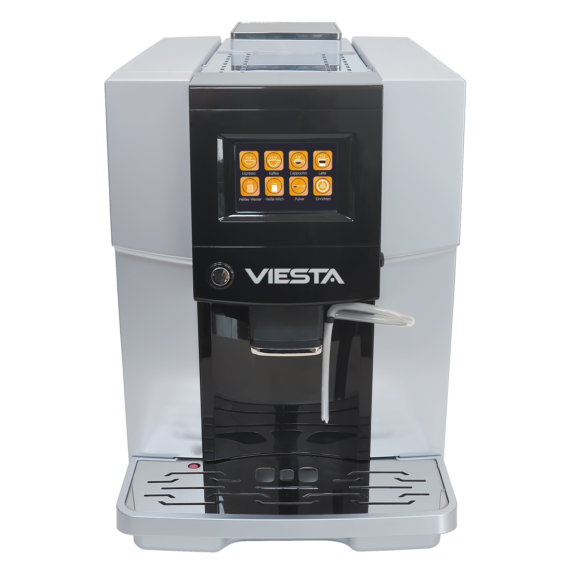 Viesta one touch 500 kaffeevollautomat kaffeemaschine mit for Kaffeevollautomat 200