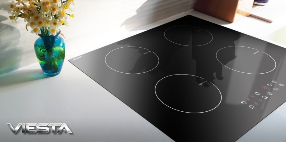 viesta i hochwertiges 4 zonen induktionskochfeld induktionsherd induktion platte ebay. Black Bedroom Furniture Sets. Home Design Ideas