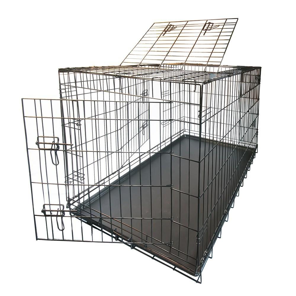 cage pliable m tallique bo te de transport cage de chien s xxl ebay. Black Bedroom Furniture Sets. Home Design Ideas