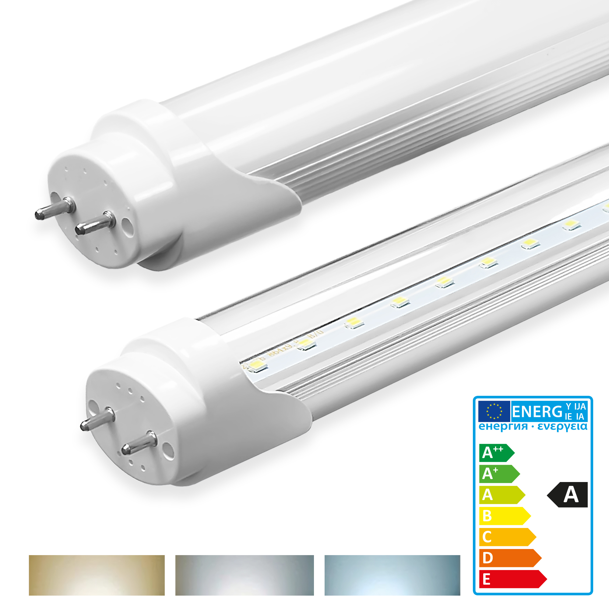 ledvero led tube t8 g13 fluorescent tube lamp 8w 32w. Black Bedroom Furniture Sets. Home Design Ideas
