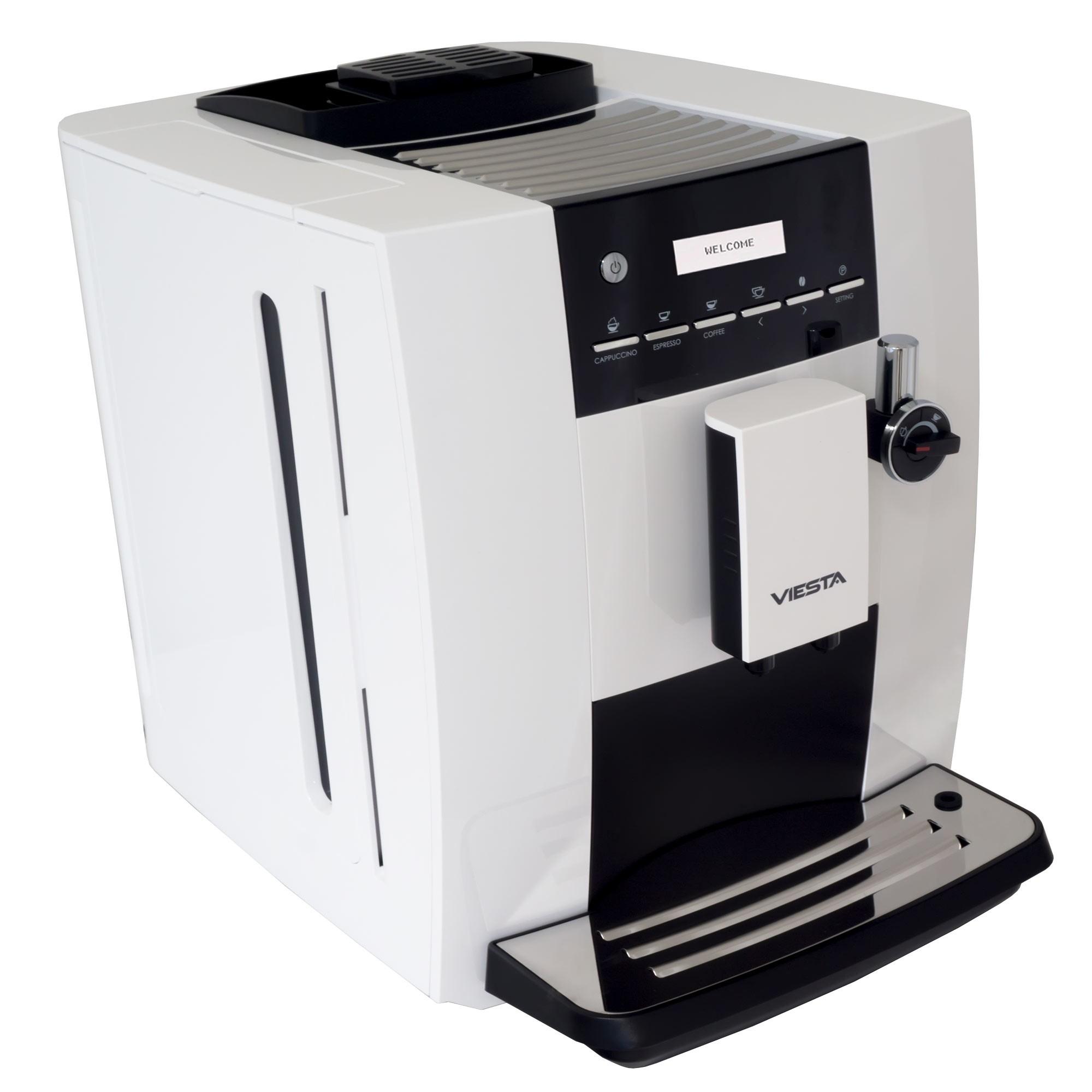 viesta cb350 eco plus kaffeevollautomat mit keramik mahlwerk milchaufsch umer. Black Bedroom Furniture Sets. Home Design Ideas