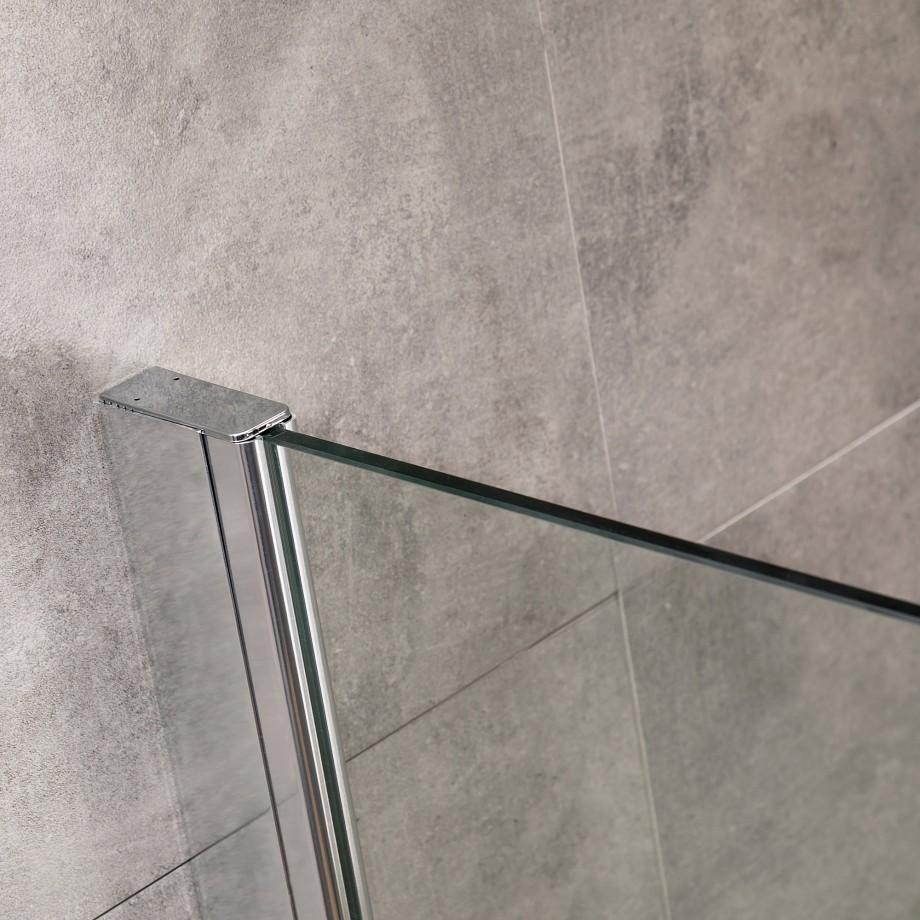 viesta glas duschwand 70 x 195 cm duschabtrennung. Black Bedroom Furniture Sets. Home Design Ideas