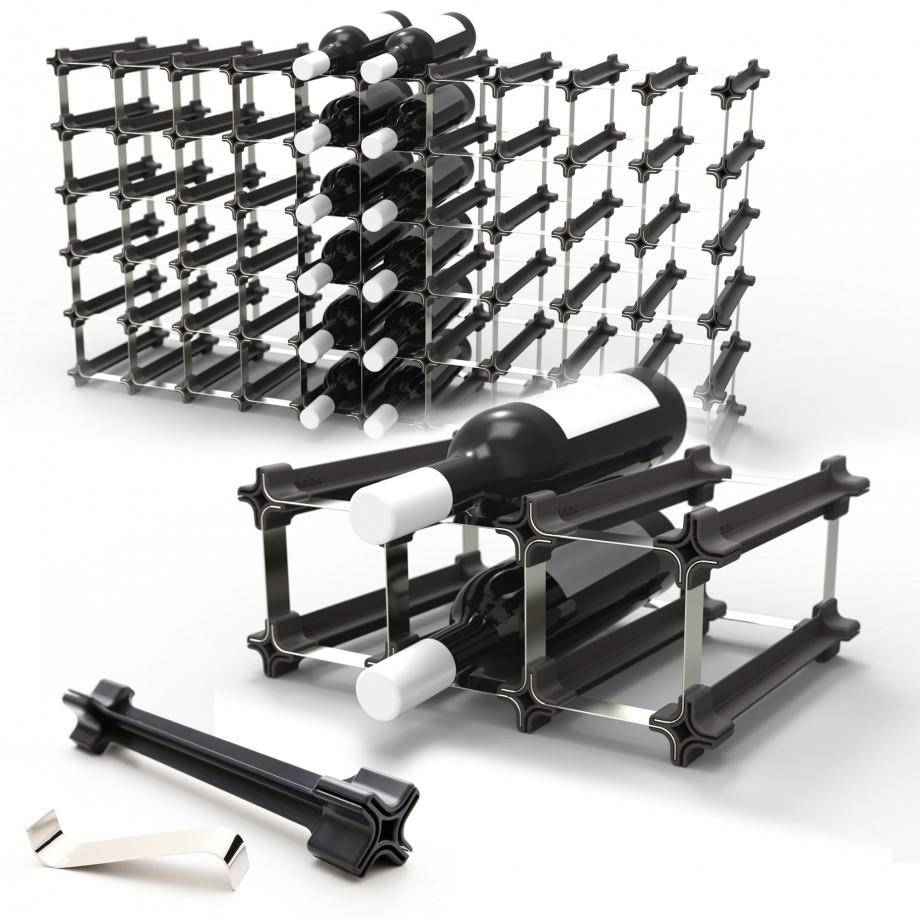 nook weinregal flaschenregal mit modularem system. Black Bedroom Furniture Sets. Home Design Ideas
